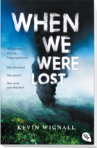 Buchcover When we were lost