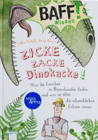 "Buchcover BAFF! Wissen ""Zicke zacke Dinokacke"""