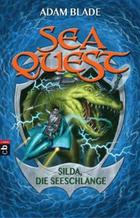 Buchcover Sea Quest – Silda, die Seeschlange