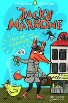Buchcover Jacky Marrone jagt die Goldpfote