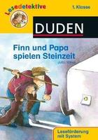 Buchcover Finn und Papa spielen Steinzeit