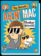 Buchcover Agent Mac – Klunker gesucht