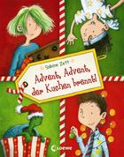 Buchcover Advent, Advent, der Kuchen brennt
