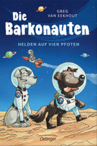 Buchcover Greg van Eekhout: Die Barkonauten – Helden auf vier Pfoten