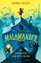 Buchcover Malamander. Die Geheimnisse von Eerie-on-Sea