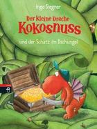 Buchcover Der kleine Drache Kokosnuss und der Schatz im Dschungel