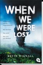 Buchcover When we were lost