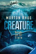 Buchcover Creature. Gefahr aus der Tiefe
