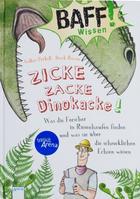 """Buchcover Volker Präkelt und Derek Roczen: BAFF! Wissen """"Zicke zacke Dinokacke!"""""""