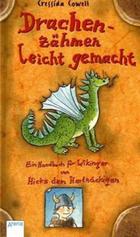 Buchcover Drachenzähmen leicht gemacht (aus der Reihe Hicks, der hartnäckige Wikinger)