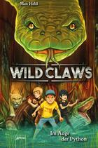 Buchcover Wild Claws. Im Auge der Python