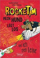 Buchcover RockeTim: Mein Hund legt los – und ich zieh Leine