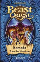 Buchcover Beast Quest - Komodo, Echse des Schreckens