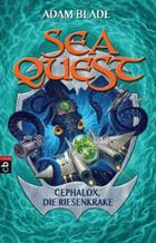 Buchcover Sea Quest – Cephalox, die Riesenkrake
