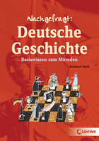 Buchcover Reinhard Barth: Nachgefragt: Deutsche Geschichte