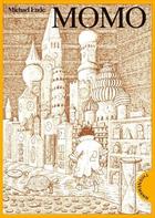 Buchcover Momo (oder Die seltsame Geschichte von den Zeit-Dieben und von dem Kind, das den Menschen die gestohlene Zeit zurück-brachte)