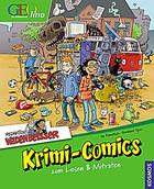 Buchcover Redaktion Wadenbeißer: Krimi-Comics zum Lesen & Mitraten